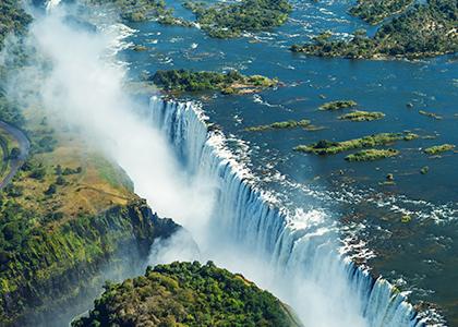Kombiner Botswana med Victoria Falls